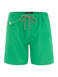 Duck And Cover Slick Swim Shorts Green