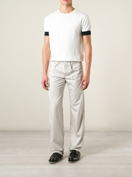 Etro Straight Leg Trousers Nude And Neutrals