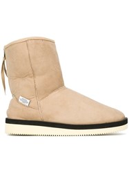 Suicoke 'Ron Mid Vm' Boots Nude And Neutrals
