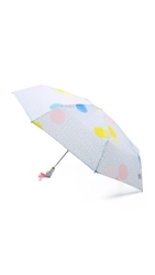 Marc By Marc Jacobs Floating Spot Umbrella Cloud Blue Multi