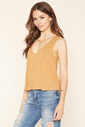 Forever 21 Contemporary Strappy Tank