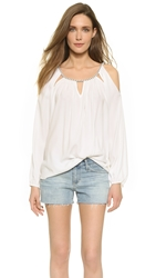 Ramy Brook Luna Blouse Summer White