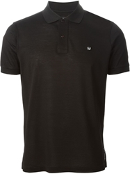 Fendi Bug Polo Shirt Black