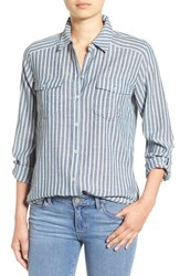 Paige Women's Denim 'Mable' Stripe Shirt