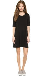 Wilt Trapeze Tee Dress Black