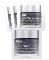 Bliss Multi 'Face' Eted 3 Packette Face Set