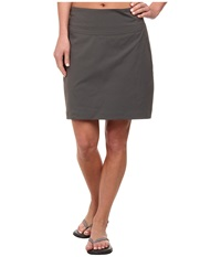 Royal Robbins Discovery Skort Charcoal Women's Skort Gray