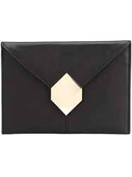 Pierre Hardy Prism Clutch Black
