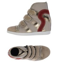 Ruco Line High Tops And Trainers Dove Grey