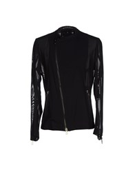 Tom Rebl Coats And Jackets Jackets Men Black