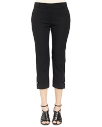 Lanvin Ankle Pants With Stud Cuff Detail 38 6