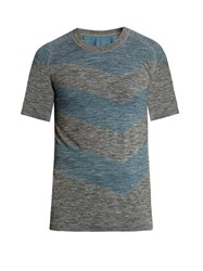 Every Second Counts Flash Seamless Perfomance T Shirt Charcoal