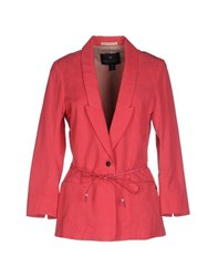 Maison Scotch Suits And Jackets Blazers Women Coral