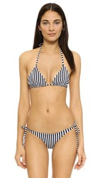 Lolli Venessa Arizaga Sweets Bikini Black And White Stripes