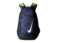 Nike Vapor Elite Bat Backpack Graphic Midnight Navy Obsidian White Backpack Bags Blue