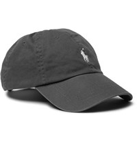 Polo Ralph Lauren Cotton Twill Baseball Cap Charcoal