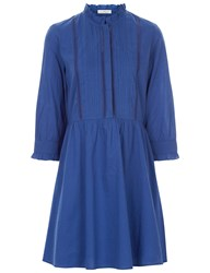 Vanessa Bruno Blue Cotton Emira Dress