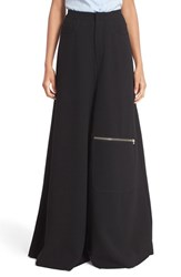Marques Almeida Women's Marques'almeida Six Pocket Wide Leg Wool Trousers