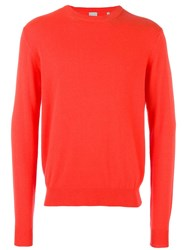 Paul Smith Cashmere Jumper Yellow Orange