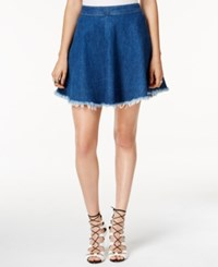 Guess Frayed Skater Skirt Conway No Pp W. Raw Hem 2 Wash