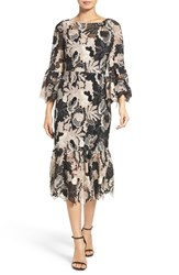 Tracy Reese Women's Lace Midi Dress