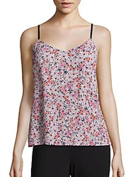 French Connection Bacongo Daisy Tank Top Fizi Pink