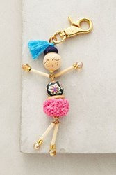 Anthropologie Performance Artist Keychain Purple