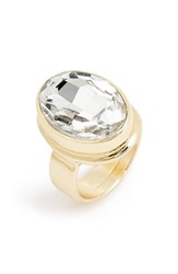 Junior Women's Bp. Oval Crystal Ring