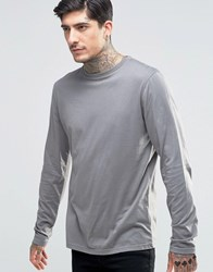 Another Influence Long Sleeve T Shirt Grey