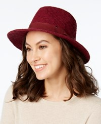 Inc International Concepts Packable Panama Hat Only At Macy's Wine