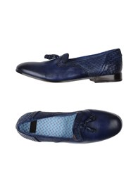 Raparo Footwear Moccasins Men Blue