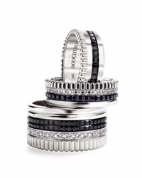 Boucheron Large Quatre Black Edition Diamond Band