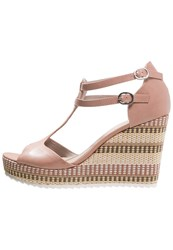 S.Oliver Wedge Sandals Rose