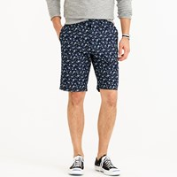J.Crew 10.5' Club Short In Blue Floral