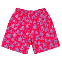 Havelock Bay Ruby Taj Men's Swimming Trunks Red Pink Purple