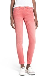 Junior Women's Vigoss 'Chelsea' Skinny Jeans Red