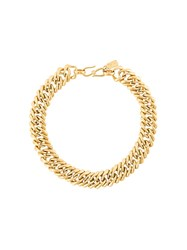 Yves Saint Laurent Vintage Chain Choker Metallic