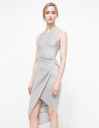 Which We Want Sanders Dress Heather Grey