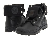 Palladium Baggy Leather Black Women's Lace Up Boots