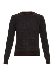 Marc Jacobs Waffle Knit Wool And Cashmere Blend Sweater