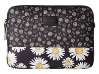 Marc Jacobs Byot Mixed Daisy Flower Tech 13 Computer Case Black Multi Computer Bags