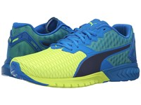 Puma Ignite Dual Electric Blue Lemonade Safety Yellow Men's Running Shoes