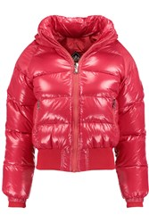 Pyrenex New Mythic Quilted Glossed Shell Down Jacket Red