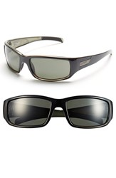 Women's Smith Optics 'Prospect' 61Mm Polarized Sunglasses Black Polar Gray Green
