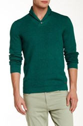 Ted Baker Hortie Shawl Collar Sweater Green