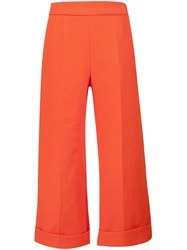 Delpozo Cropped Tailored Trousers