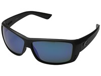 Costa Cat Cay 580 Mirror Glass Black Out Blue Mirror 580 Glass Lens Sport Sunglasses