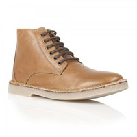 Frank Wright Wall Lace Up Boots Brown
