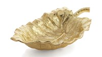 Michael Aram New Leaves Elephant Ear Large Serving Bowl