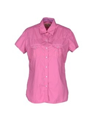Reddie Short Sleeve Shirts Light Purple